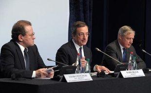 Les appels indirects aux Etats-Unis pour que Washington sorte de l'impasse budgétaire se sont multipliés mercredi en Europe, avec ceux du président de la BCE Mario Draghi et du ministre français de l'Economie Pierre Moscovici.
