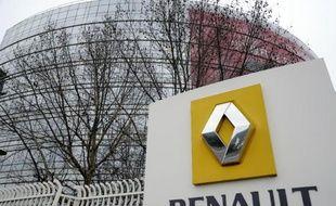 Siège de Renault à Boulogne-Billancourt le 18 janvier 2013