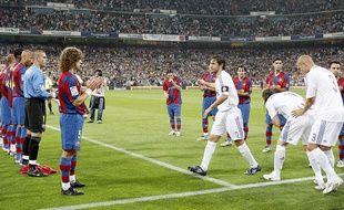 Le Barça avait fait une haie d'honneur aux Madrilènes en 2008.