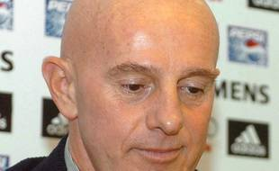 L'ancien coach de l'Italie et de Milan Arrigo Sacchi, en 2005