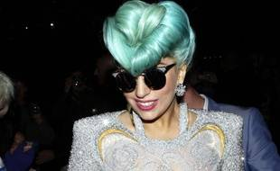 Lady Gaga le 18 juin2012.