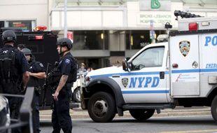 Une fusillade au Lebanon Hospital du Bronx, à New York, a fait un mort et cinq blessés grave, le 30 juin 2017.