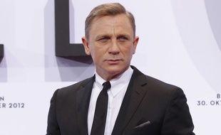 Daniel Craig, interprète de James Bond, en octobre 2012, à Berlin.