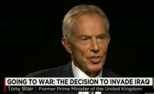 Tony Blair sur CNN, le 25 octobre 2015.