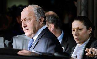 Laurent Fabius à Genève, le 9 novembre 2013, à l'occasion des discussions sur le nucléaire iranien.
