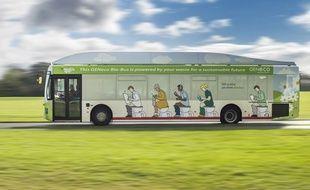 Depuis le mois de novembre, les GENeco Bio-Bus sillonnent les routes du pays grâce à du biométhane élaboré à partir de déjections humaines.