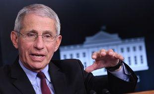 Anthony Fauci, le 5 avril 2020, à Washington.