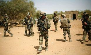 Des soldats français au Mali, le 10 février 2013.