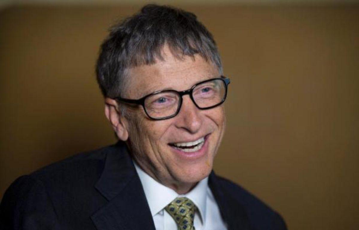 L'Américain Bill Gates, co-fondateur de Microsoft, a reconquis son titre d'homme le plus riche du monde en 2014, selon Forbes. – Don Emmert AFP