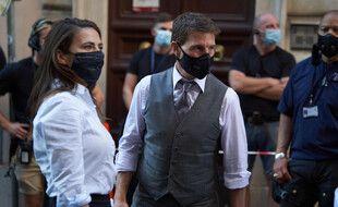 Les acteurs Hayley Atwell et Tom Cruise sur le tournage de «Mission: Impossible 7» à Rome