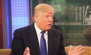 Le milliardaire américain Donald Trump en 2012.