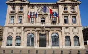 La mairie de Marseille (illustration).
