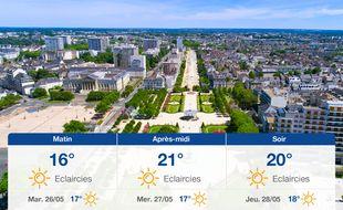 Météo Angers: Prévisions du lundi 25 mai 2020