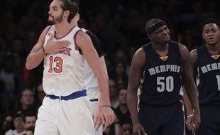 Joakim Noah, le 30 octobre 2016 au Madison Square Garden.