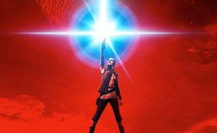 Rey au centre de l'affiche de «Star Wars - Les Derniers Jedi»