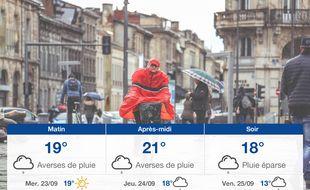 Météo Bordeaux: Prévisions du mardi 22 septembre 2020
