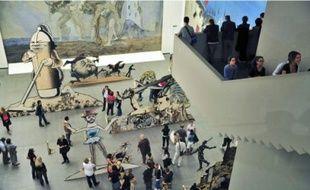 Les oeuvres délirantes de l'artiste américain Jim Shaw au musée des Abattoirs.