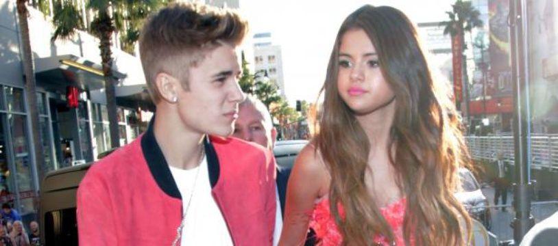 Justin Bieber et Selena Gomez, le 5 Juillet 2012, à Los Angeles