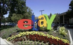 eBay France, filiale française du site américain de vente aux enchères sur internet, propose depuis ce lundi et pendant 10 jours le nom de domaine et le stock de 2.350 paires de chaussettes de la société Chaussetteonline SARL, une première en France, a indiqué eBay France.