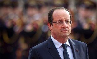 François Hollande, le 29 octobre 2013 àBratislava.