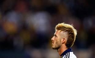 La nouvelle coupe de cheveux de David Beckham, Carson, Californie, le 13 novembre 2009.