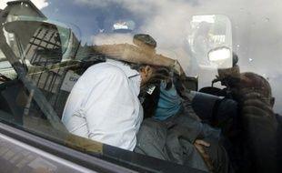 Wojciech Janowski, le gendre d'Hélène Pastor, emmené par la police le 27 juin 2014 à Nice