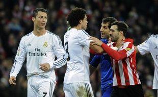 L'attaquant du Real Madrid Cristiano Ronaldo à Bilbao, le 2 février 2014.