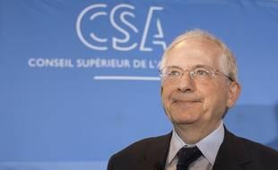 Olivier Schrameck, le président du CSA