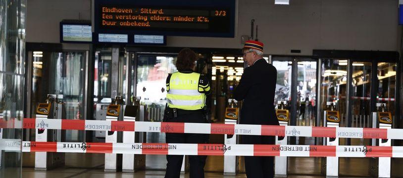 La gare d'Amsterdam au moment de l'attaque