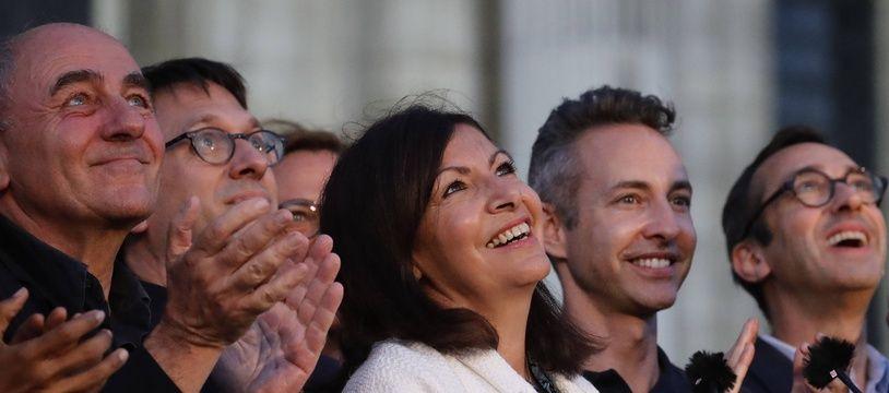 Anne Hidalgo ce dimanche 28 juin 2020