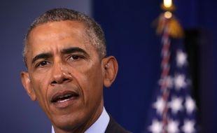 Le 12 juin 2016, Barack Obama s'exprime après la tuerie survenue dans une boîte gay d'Orlando.