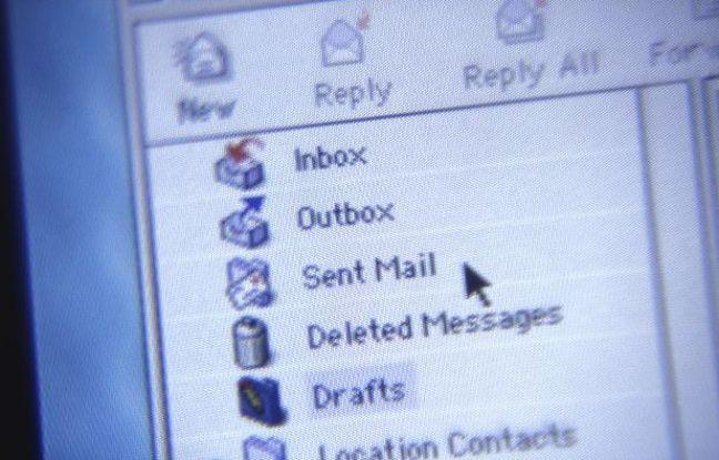 Illustration d'une messagerie électronique.