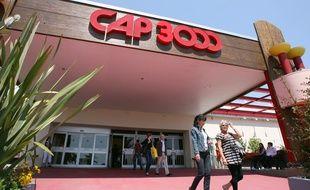 Le centre commercial Cap 3000, sur la commune de Saint-Laurent-du-Var.