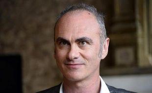Gilles van Kote, le directeur par intérim du quotidien Le Monde, le 11 mai 2015 à Paris