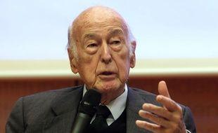 Valéry Giscard d'Estaing, le 14 novembre 2018, à Berlin.