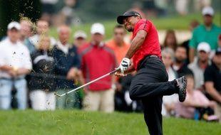 Tiger Woods lors du dernier tour de l'Open d'Akron (Ohio), dimanche 3 août 2014.