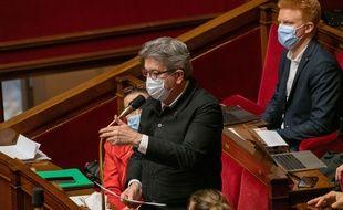 Le candidat à la présidentielle de 2022 Jean-Luc Mélenchon.