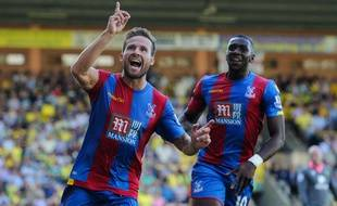 Yohan Cabaye fête son but lors de Norwich-Crystal Palace le 8 août 2015.