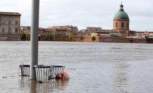 Des inondations à Toulouse le samedi 14 décembre