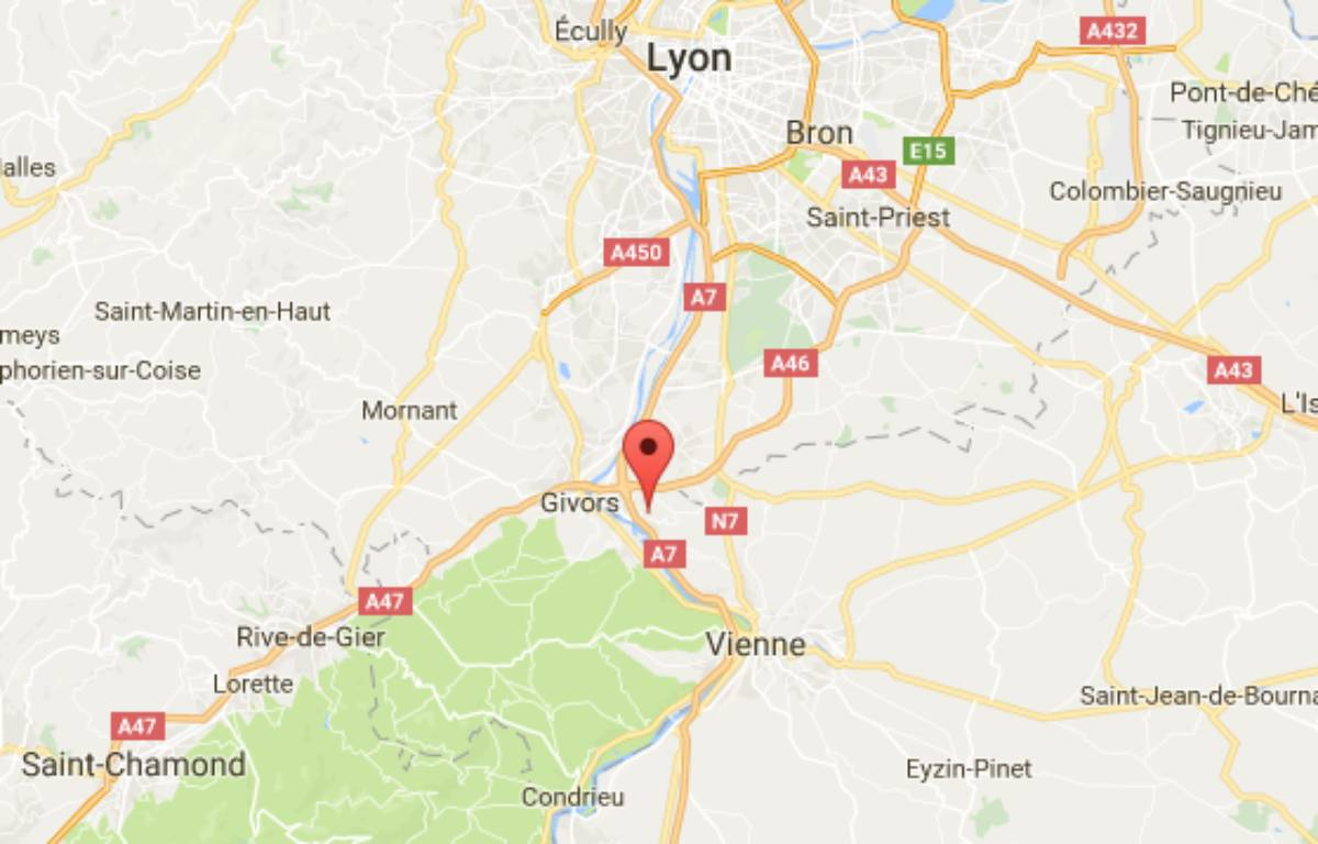 Le véhicule a été retrouvé à Chasse-sur-Rhône – google maps