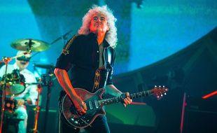 L'ancien guitariste de Queen, Brian May le 12 juillet 2014.