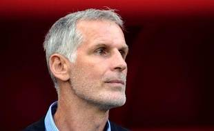 Francis Gillot, l'entraîneur de Bordeaux, le 27 août 2011, à Valenciennes.