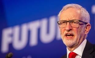Jeremy Corbyn, le leader du parti d'opposition Labour, le 19 février 2019.