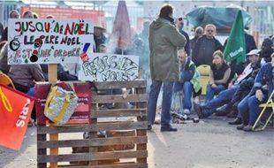 Hier matin, les grévistes ont décidé de reconduire leur mouvement.