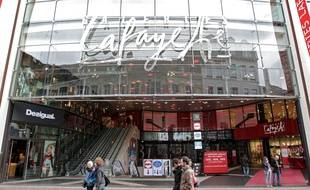 Les Galeries Lafayette de Lille.