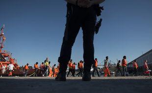 L'Espagne est devenue en 2018 la première porte d'entrée de l'immigration clandestine en Europe (Illustration).