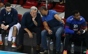 Claude Onesta, le sélectionneur de l'équipe de France de handball, le 7 janvier 2016, à Paris.