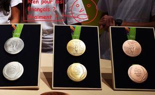 Les Bleus n'ont pas remporté la moindre médaille aux JO samedi.