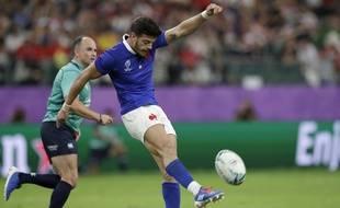 Romain Ntamack, l'ouvreur du XV de France pour le premier match du Tournoi contre l'Angleterre, le 2 février 2020.
