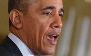 Barack Obama le 12 février 2014.